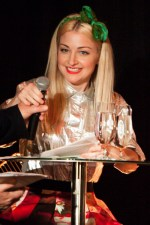 Kate Miller-Heidke announces Helpmann Awards Nominations at Hamer Hall.
