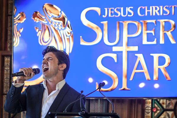 Zoy Frangos plays Judas in the Production Company 2017 show of Jesus Christ Superstar. Photo Ros O'Gorman