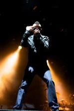 Chester Bennington Linkin Park at Rod Laver Arena 2010. Photo by Ros O'Gorman
