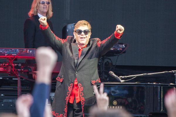 Elton john perth
