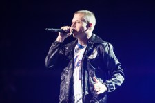 Macklemore & Ryan Lewis perform in Melbourne at Rod Laver Arena on Friday 5 August 2016 as part of their This Unruly Mess I've Made World Tour. Photo Ros O'Gorman