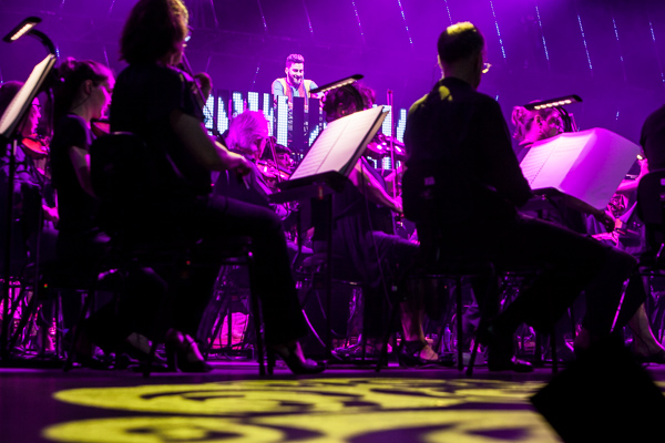 Symphonica: Armand Van Helden and the MSO at the Sidney Myer Music Bowl on Saturday 27 January 2018. Photo by Ros O'Gorman