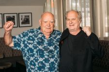 Michael Gudinski and Michael Chugg