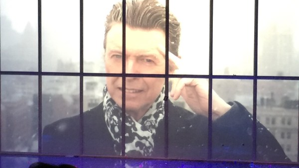 David Bowie from the Lazarus finale