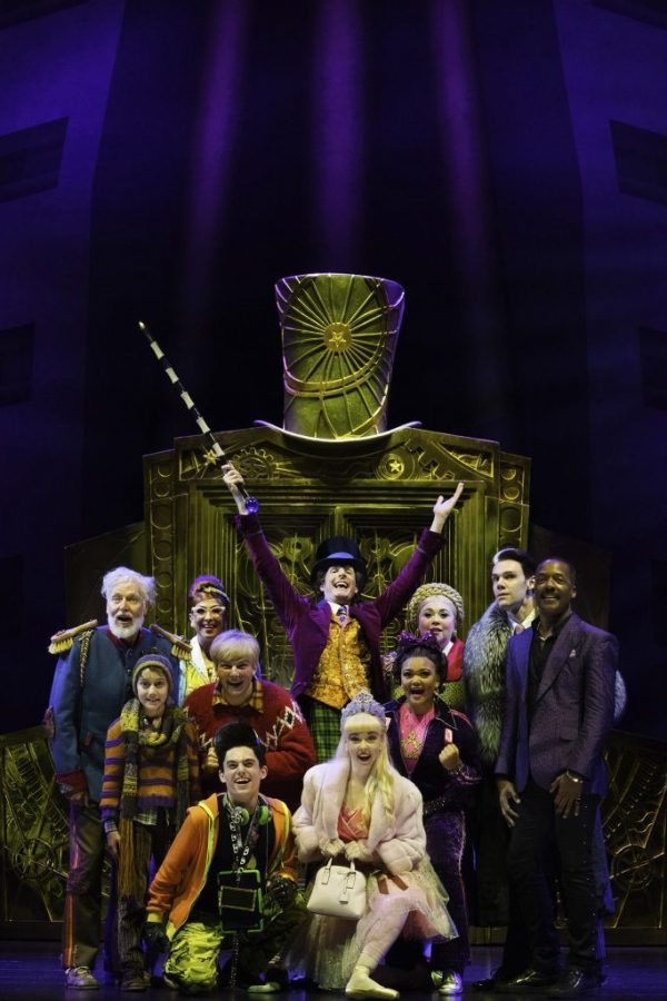 Australian cast of Charlie and teh Chocolate Factory