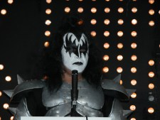 Gene Simmons of Kiss photo by Ros OGorman