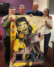 Midnight Oil signed poster for RSPCA