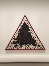 Keith Haring - A Pile of Crowns, for Jean-Michel Basquiat, 1988
