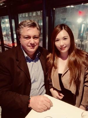 Noise11 Chief Operating Officer Nick Kontonicolas and Serena Pei Ying Wang