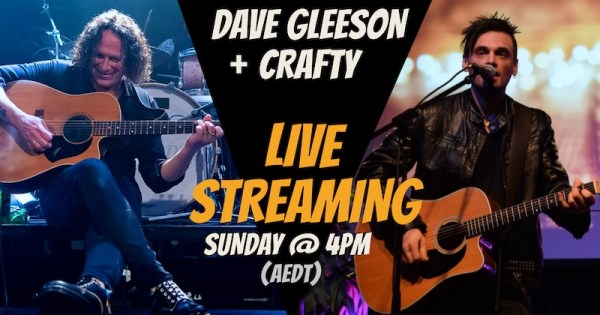 Dave Gleeson and Crafty