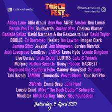 Torch Fest Lite full lineup