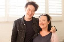 Matt Murphy of The Wombats with Noise11's Ros O'Gorman