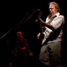 Neil Young and Crazy Horse Greendale tour Melbourne photo by Ros O'Gorman