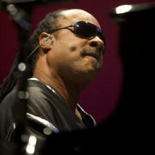 Stevie Wonder photo by Ros O'Gorman