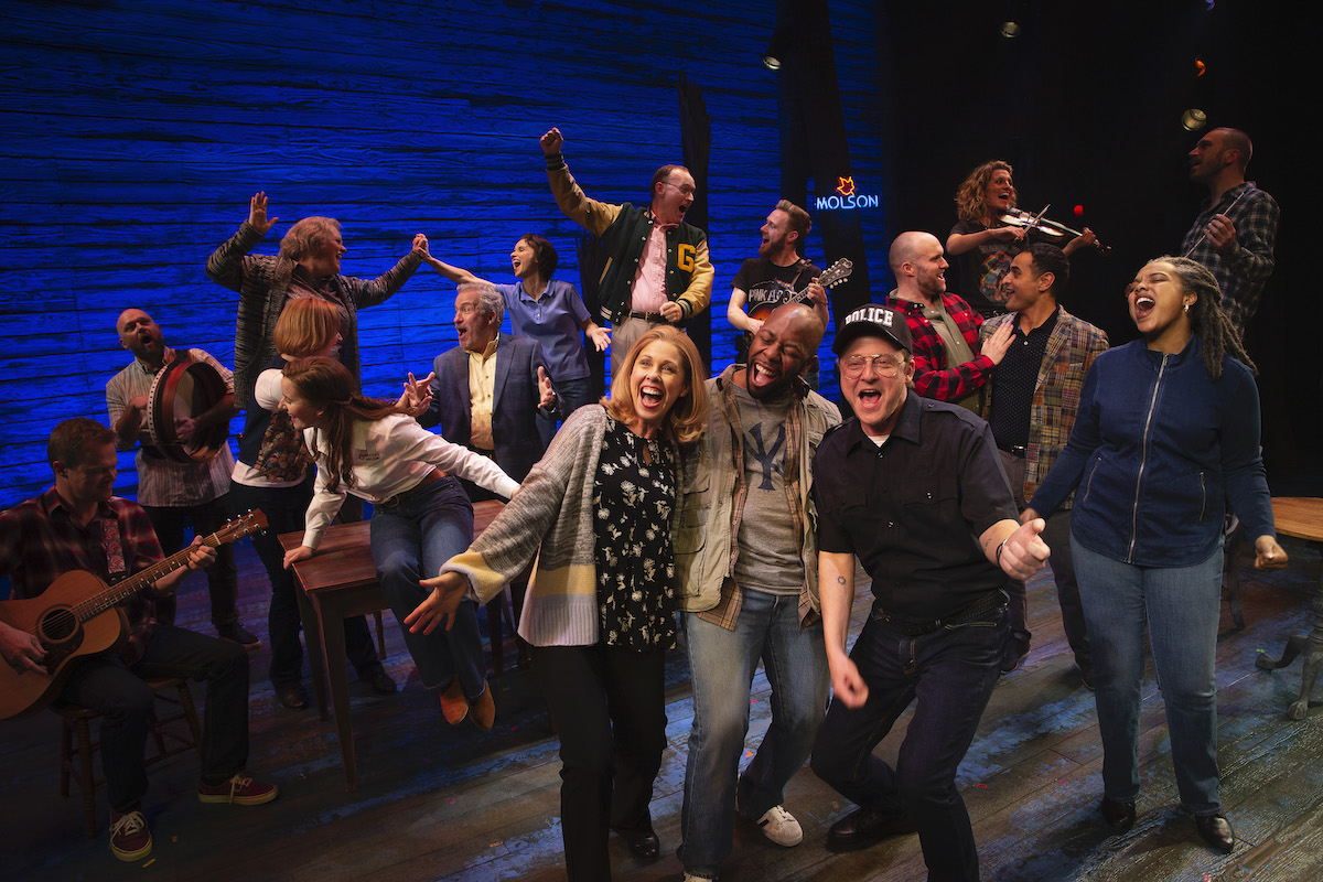 Come From Away photo by Jeff Busby