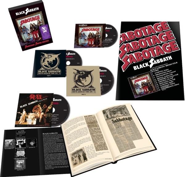 Black Sabbath Sabotage expanded