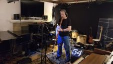 Brian Ritchie of The Violent Femmes Recording for Kevin Hearn's Sun Ra Tribute at DVs Perversion Room 2