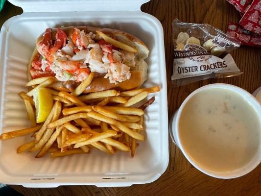 Lobsta Roll and Clam Chowda. Photo: Brian Ritchie