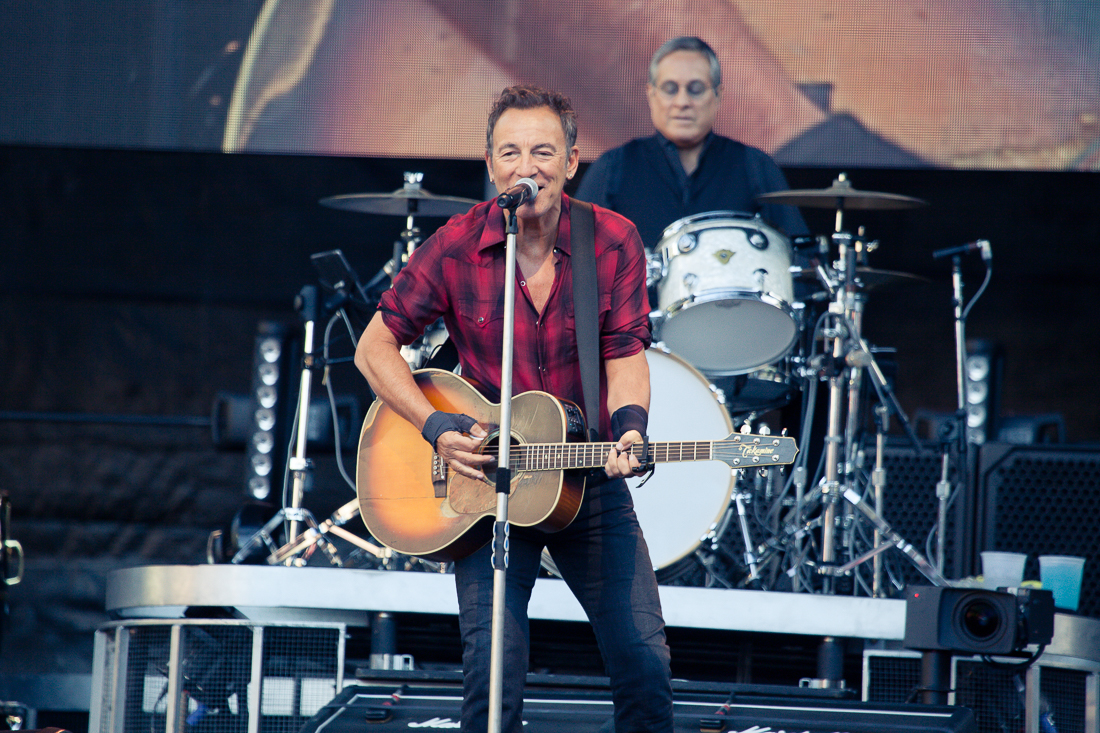 Bruce Springsteen performs 'Land of Hope and Dreams' for Joe Biden's inauguration