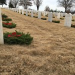 All done! 8,000 wreaths were placed.