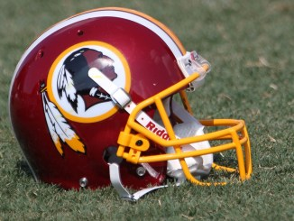 Washington Redskins Training Camp August 4, 2011 Helmet NFL