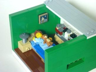Lego sleep micro apartment