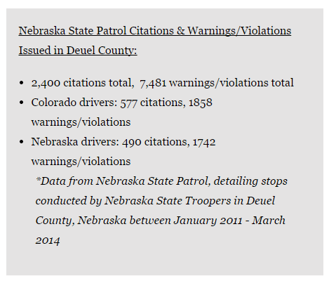 7 News Nebraska Police Statistics Marijuana Traffic Stops 2011-2014