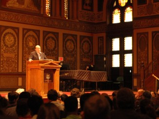 David Simon Speaks at Georgetown DC 2009