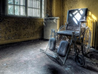 Wheelchair at Asylum