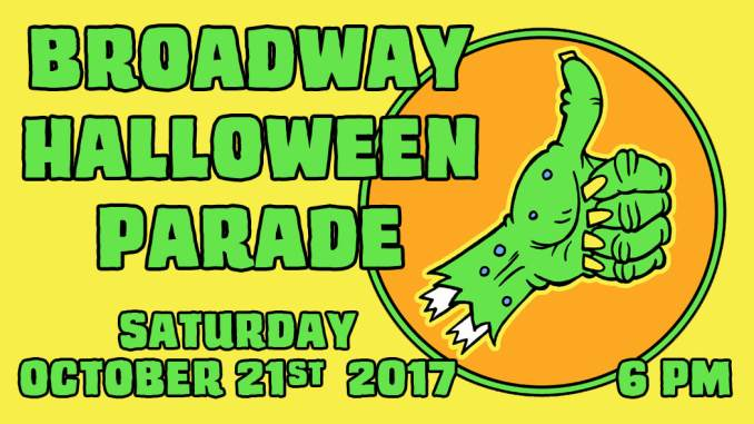 Broadway Halloween Parade