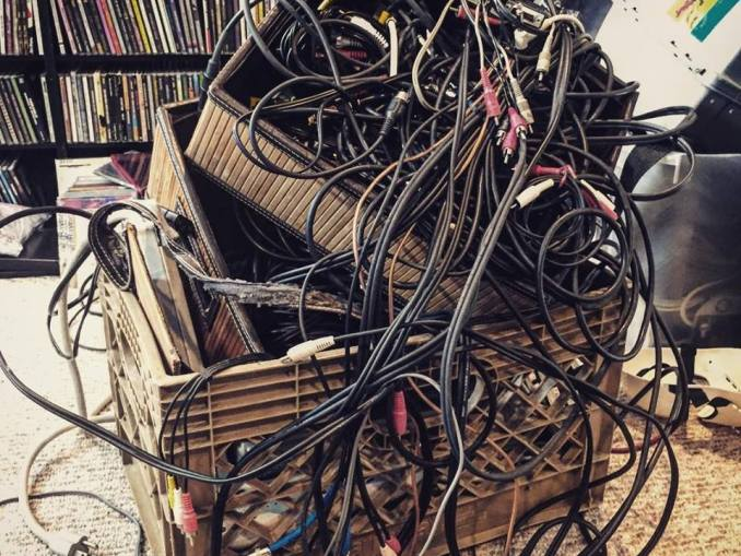 Boxes of wires and cables Marc Everett