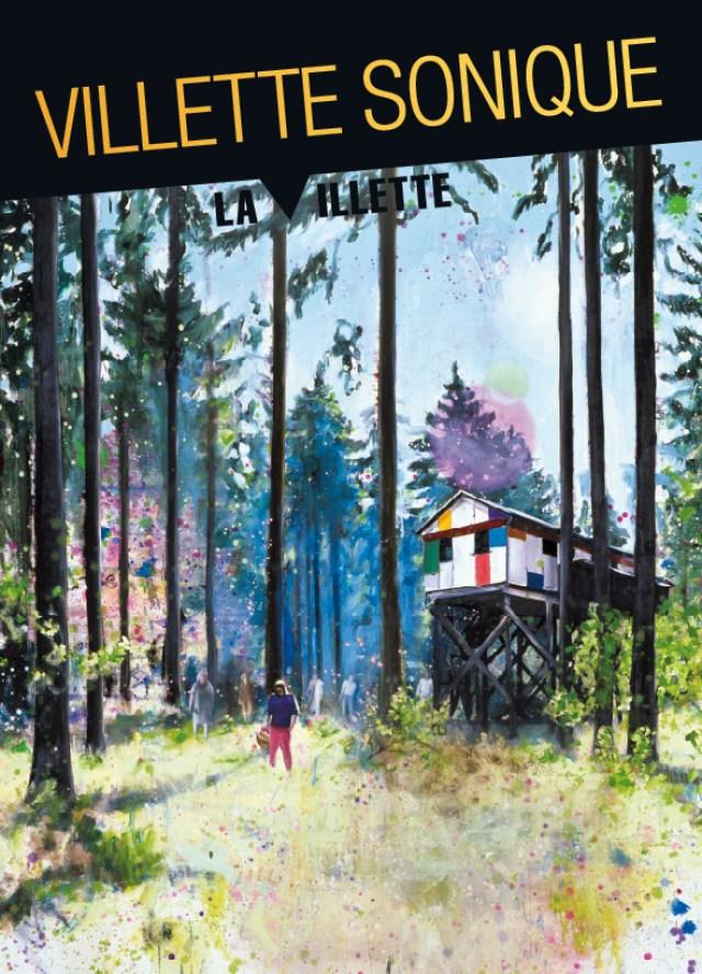 Villette Sonique 2014, visuel- (c) Ill. Till Gerhard, Walden (2004), ADAGP Paris 2014 - Graph. Sylvie Astié, Dokidoki