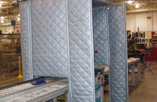 acoustic curtains soundproof blanket