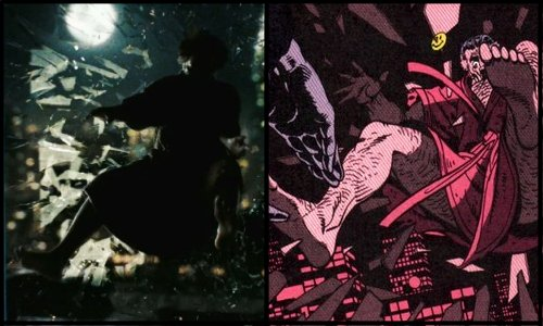 Αποτέλεσμα εικόνας για watchmen color palette comparison movie