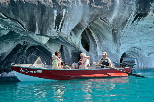 Come visitare le Cattedrali di marmo sul Lago Carrera in Patagonia