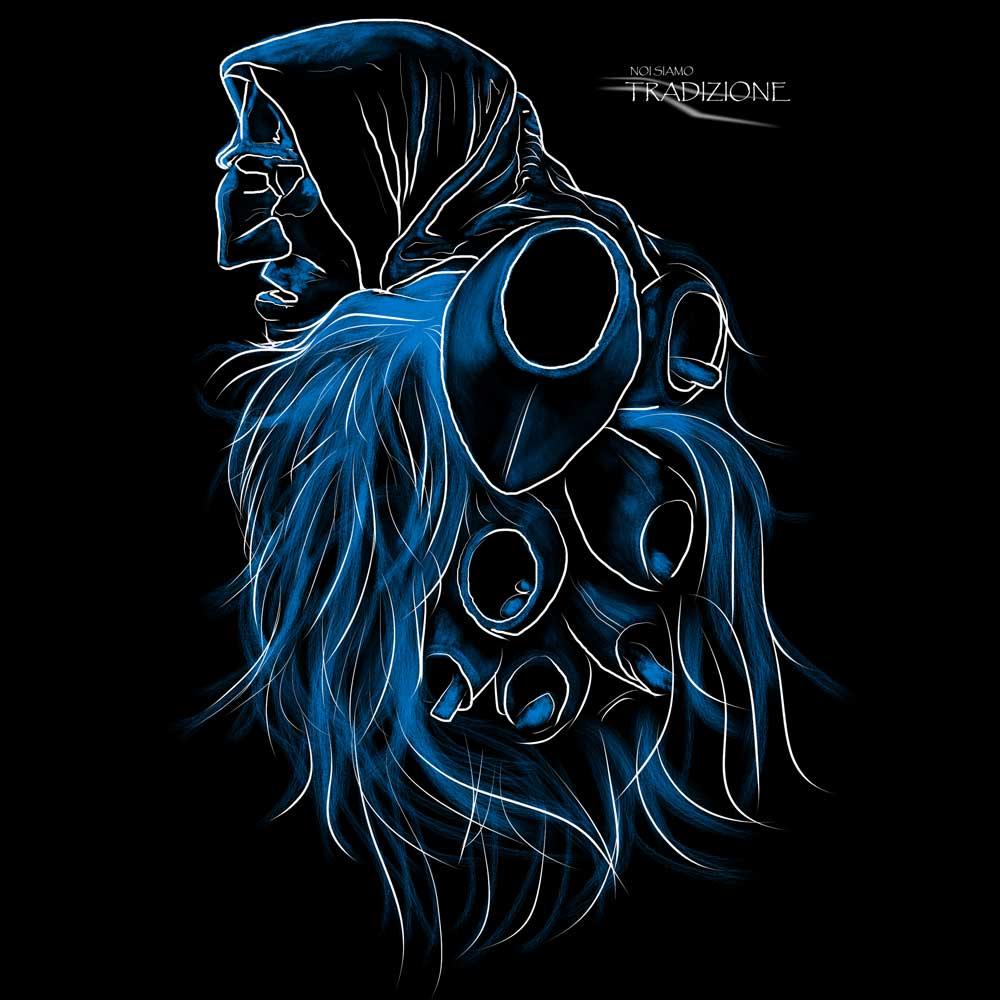 Tradizione sarda: Mamuthone Blu
