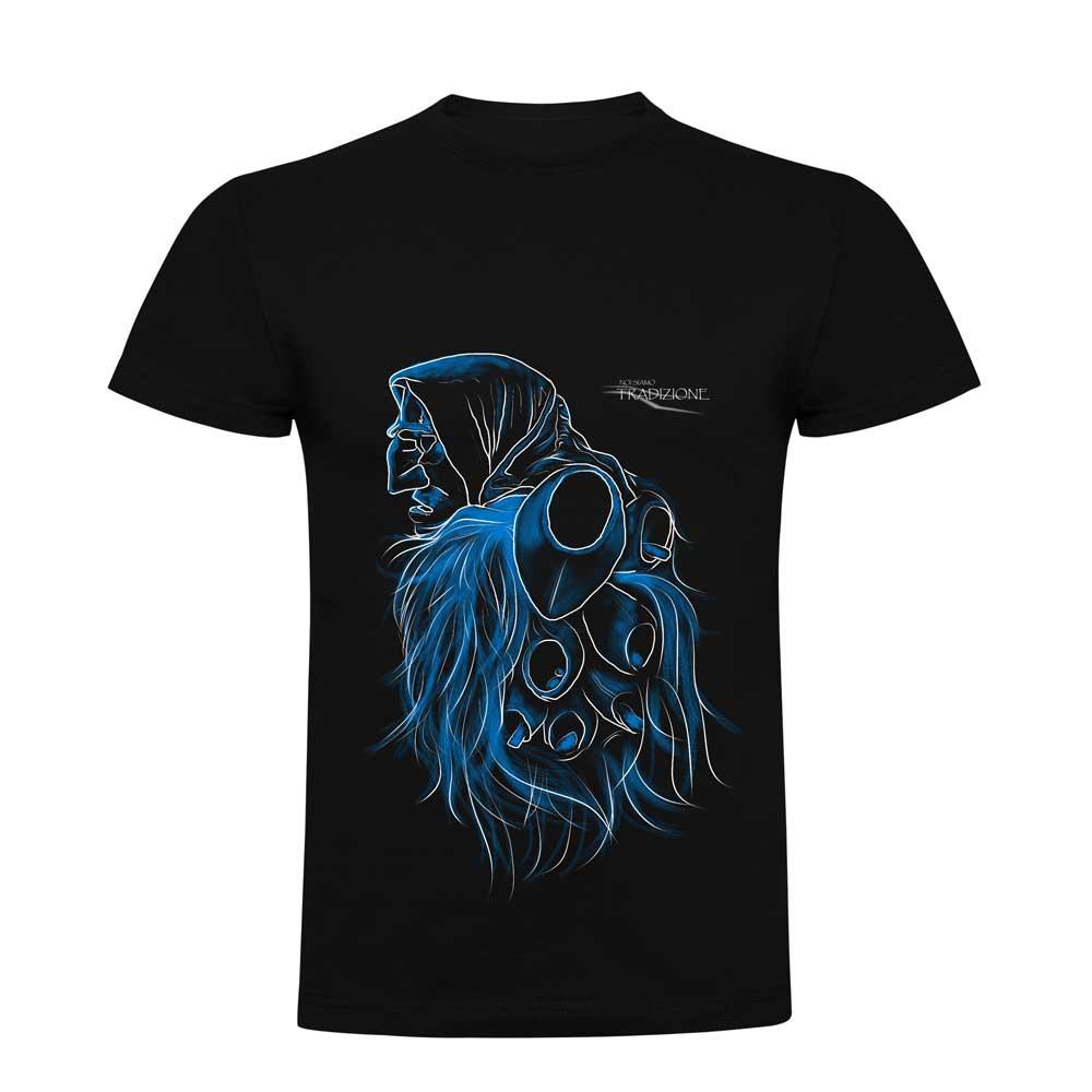 Maglietta Uomo Mamuthone Blu