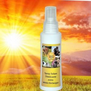 spray protezione solare per cani