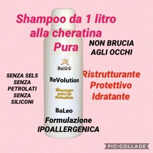 shampoo nodi e pelo lucido