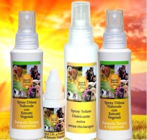protezione solare per cani
