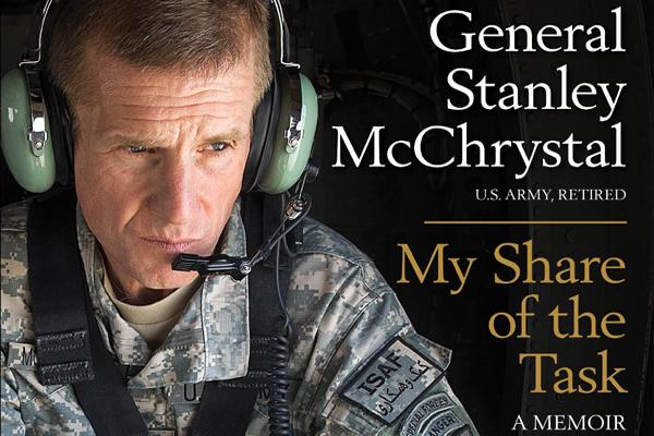General stanley mcchrystal book