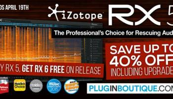 iZotope RX 7 Introductory Sale