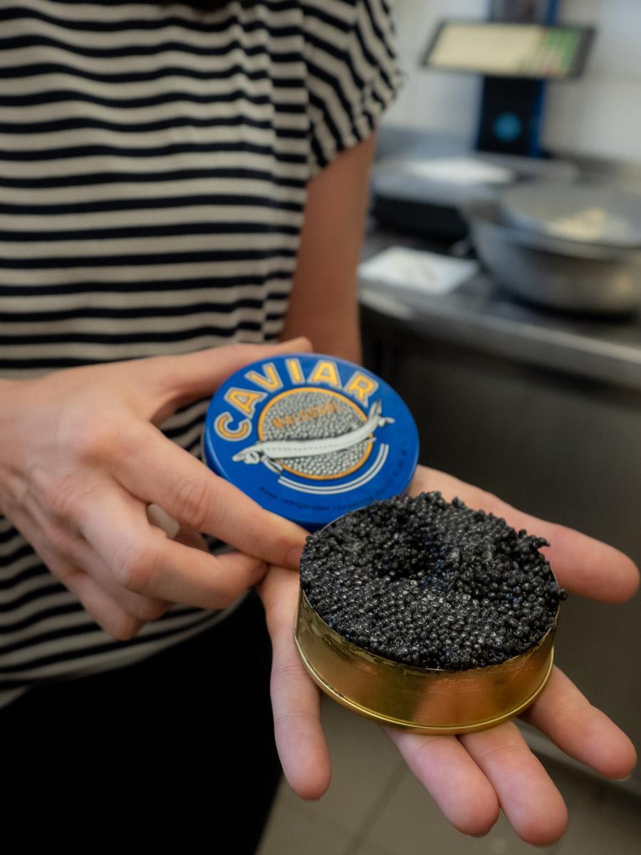 Kaviar Gruell Groedig