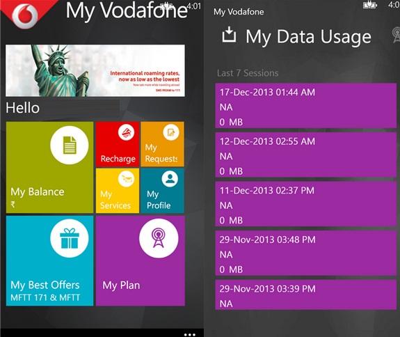 My-Vodafone-Windows-Phone-app