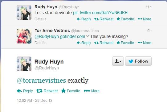 Tinder Rudy