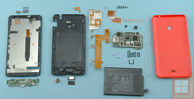 lumia1320 disassembled