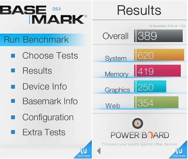 Basemark benchmarking