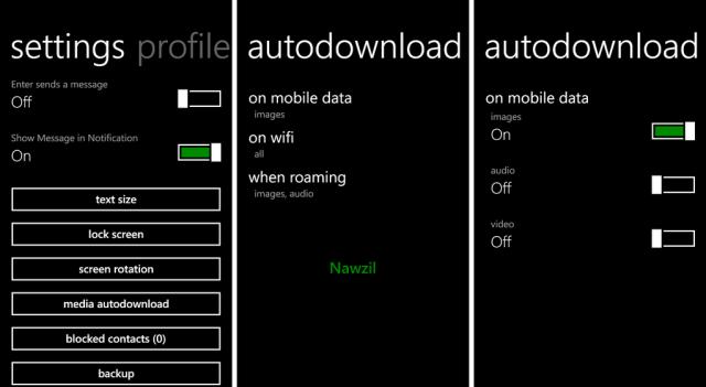 WhatsApp auto download