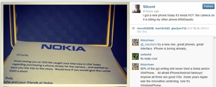 50 cents Lumia