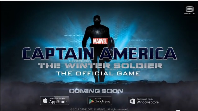 Gameloft Captain america